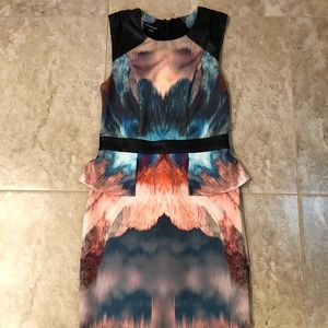 Bebe dress size small worn once!